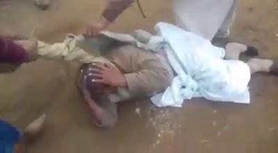 آج بھیرہ میں زمین کے تنازعے پر  بوڑھے شخص پر وحشیانہ تشدد