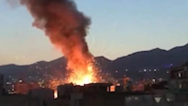 ایرانی دارالحکومت تہران میں خوفناک دھماکا، جس کے نتیجے میں 13افراد ہلاک