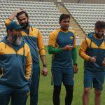 کووڈ 19 ٹیسٹ منفی آنے کے بعد پاکستانی کرکٹ ٹیم  نے باقاعدہ پریکٹس شروع کر دی